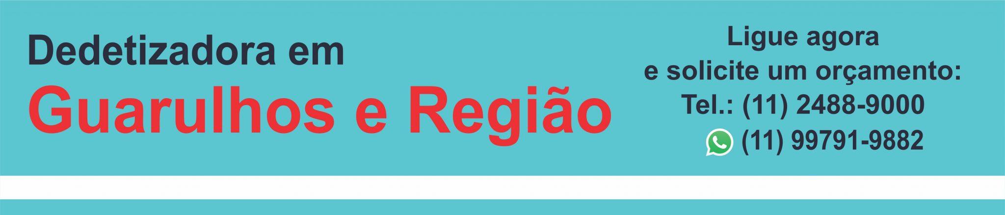 Dedetizadora em Guarulhos Logo